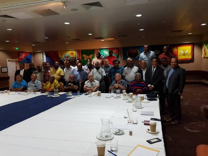 PNC claims to have a third of PNG MPs.
