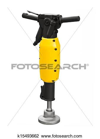 Stock Photo of Pneumatic breaker k15493662.