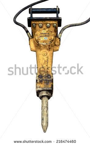 Jackhammer Stock Images, Royalty.
