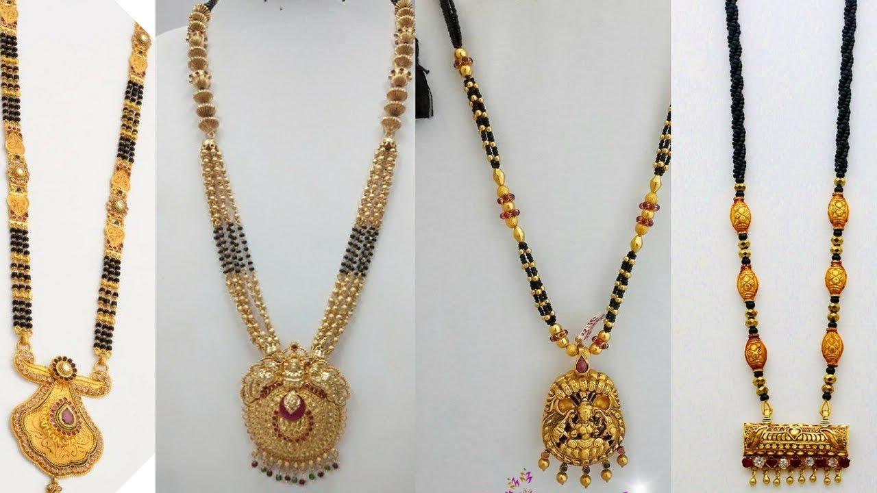 1 gram Gold Mangalsutra Designs.