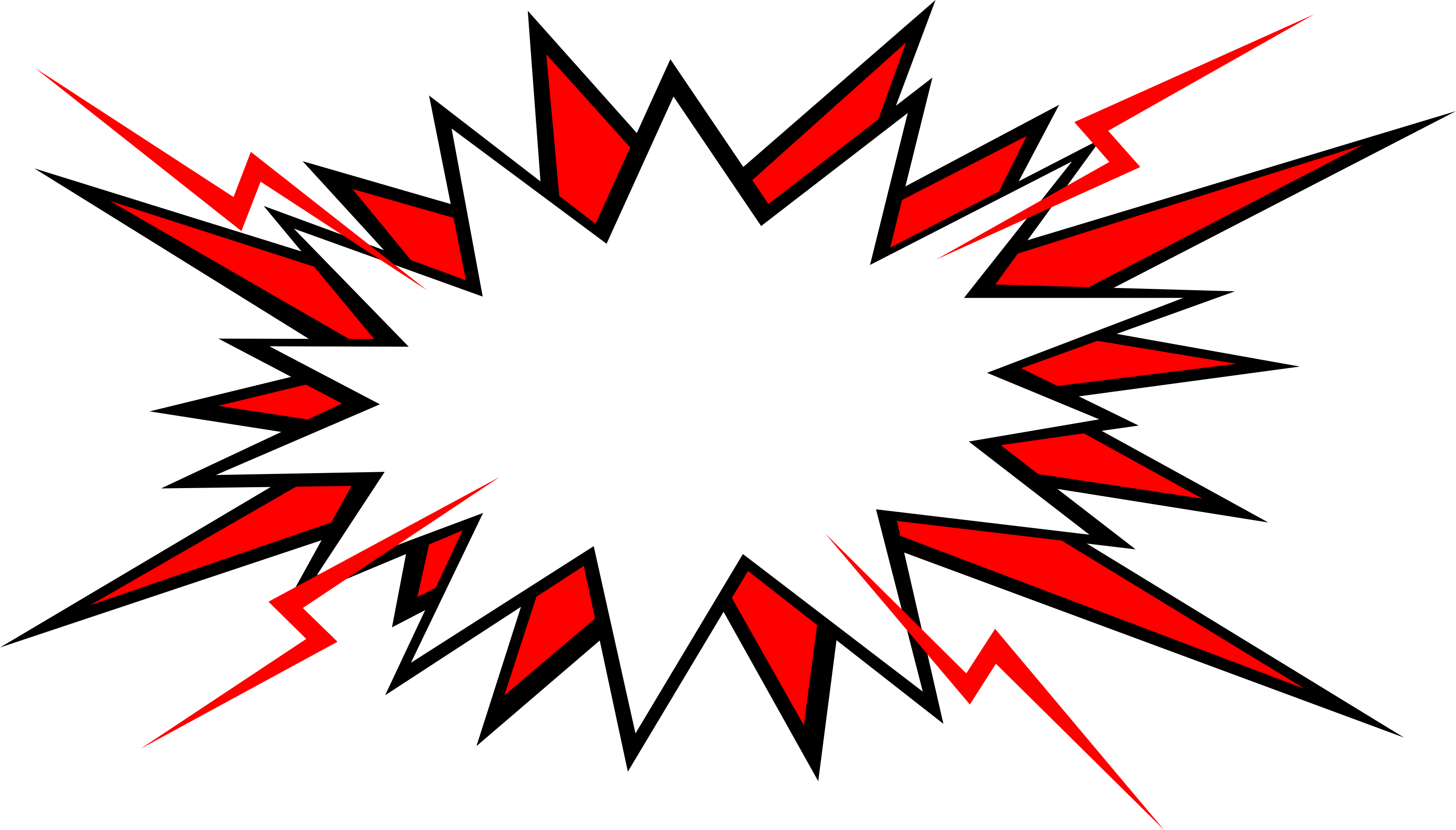 20 Comic Boom Explosion Vector (PNG Transparent, SVG) Vol. 2.