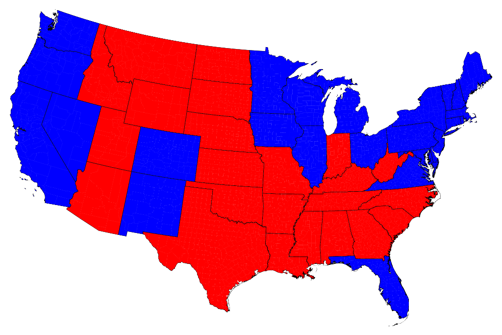 Election maps.