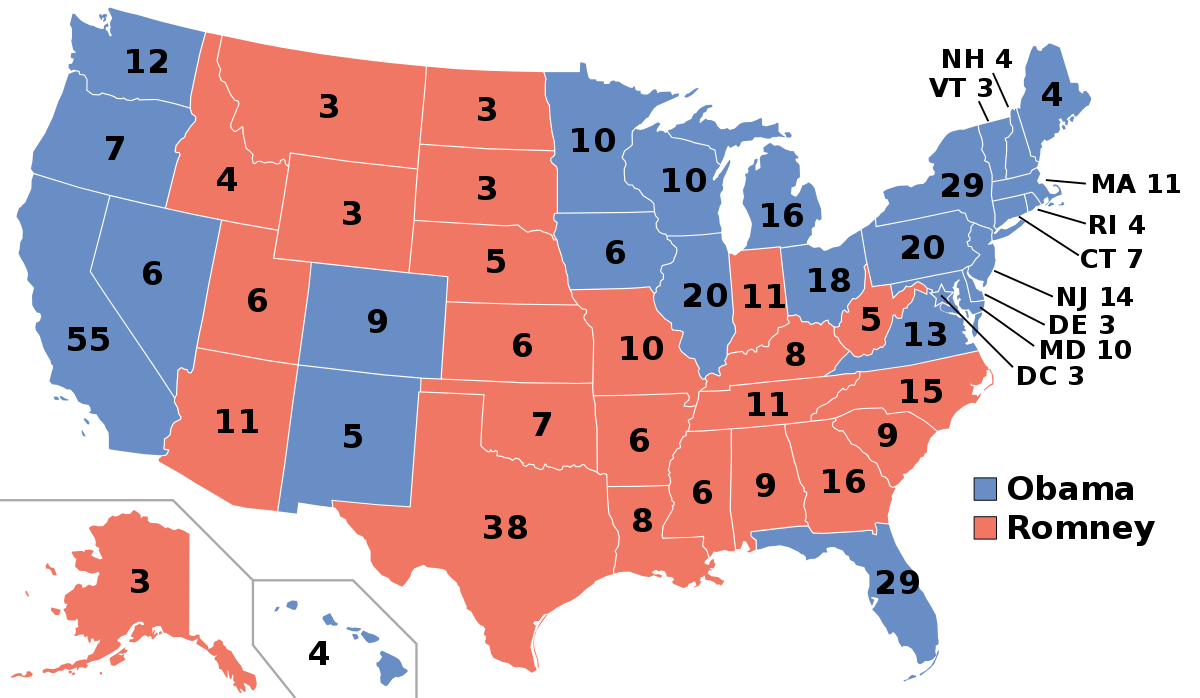 2012 United States presidential election.