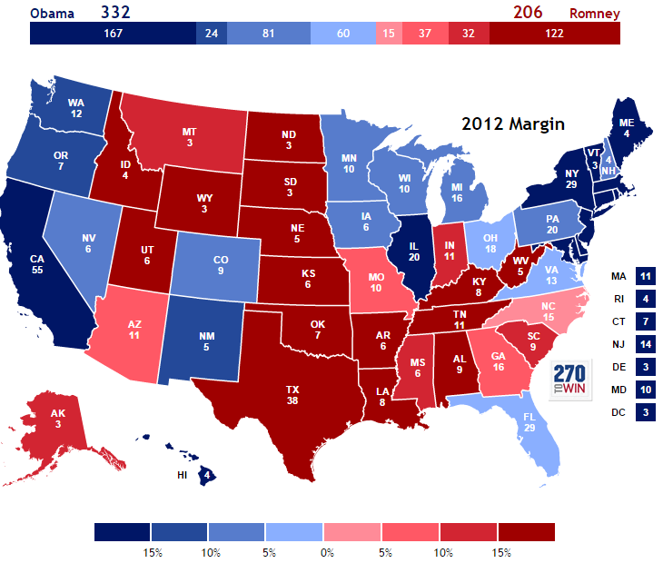 Presidential Election of 2012.