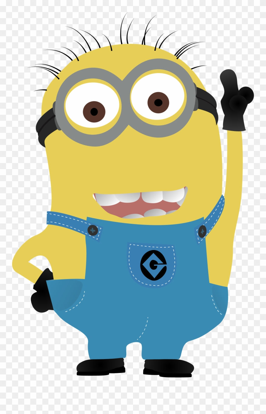 Minion Vector Png Clipart Transparent Stock.