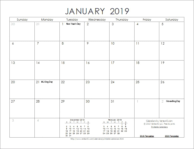 Calendar 2019 PNG Images Transparent Free Download.