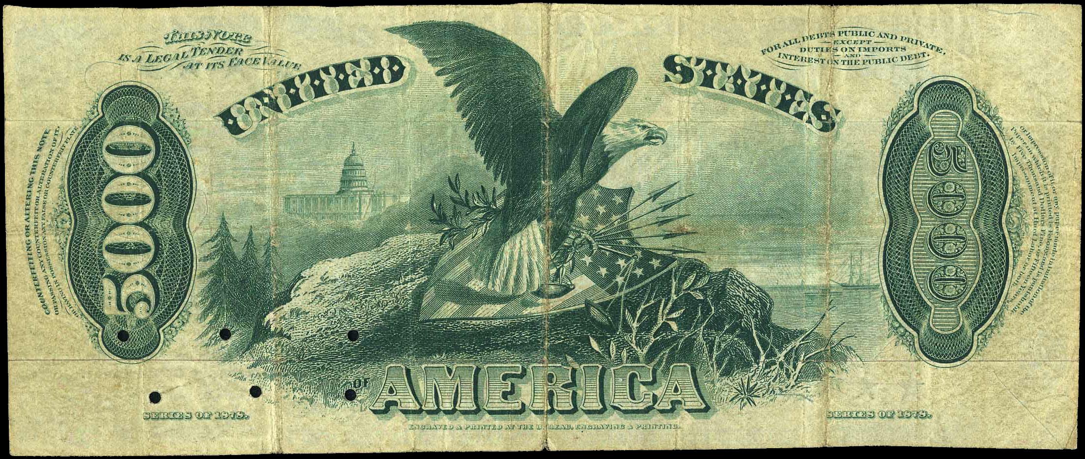 File:5000 Dollar 1878 US Legal Tender reverse.png.
