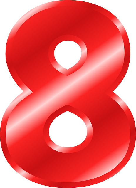 Number 8 PNG images free download, 8 PNG.