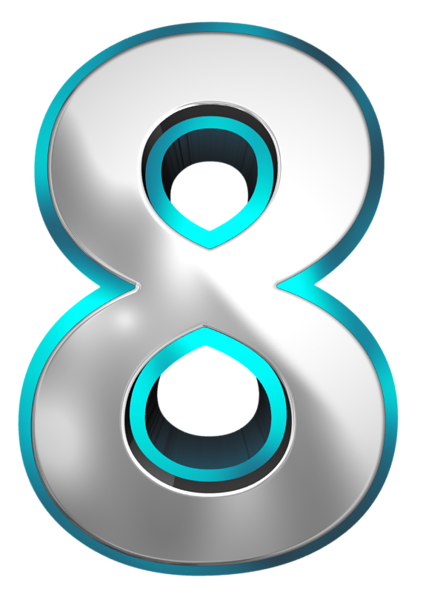 Download Free png 8 Number.