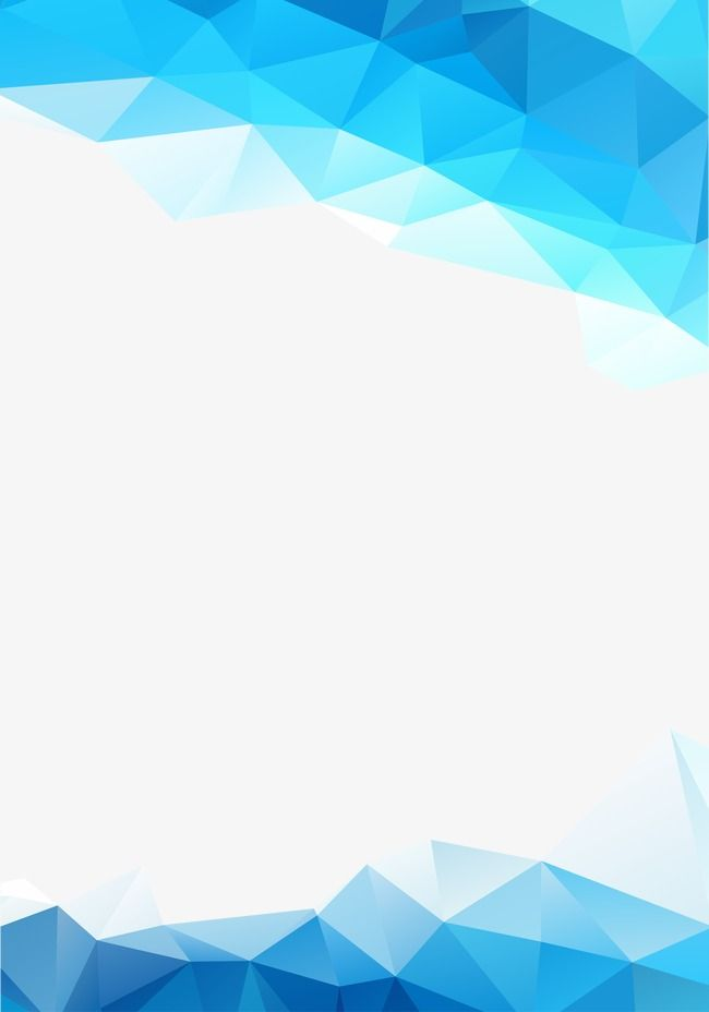 Blue Abstract Graphics, Irregular Graphics, Geometry PNG and.