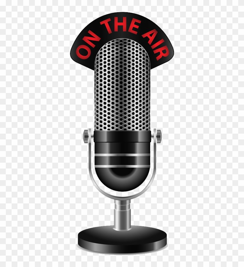 Radio Station Microphone Png Transparent.