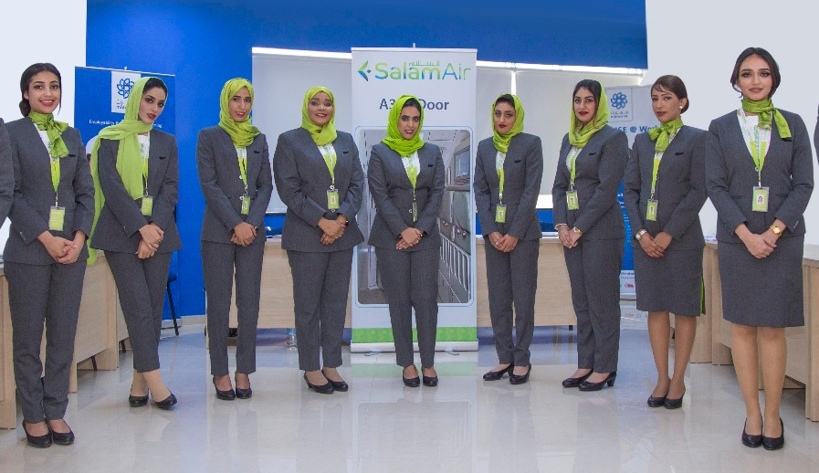 Salam Air welcomes new batch of female cabin crew.