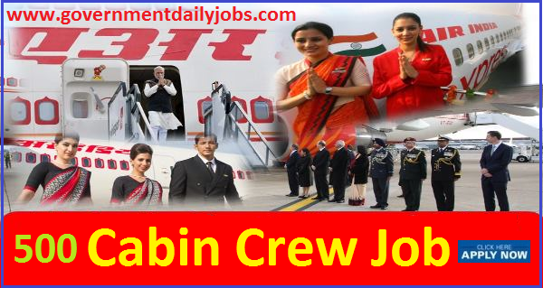 AIR INDIA CABIN CREW RECRUITMENT 2018.