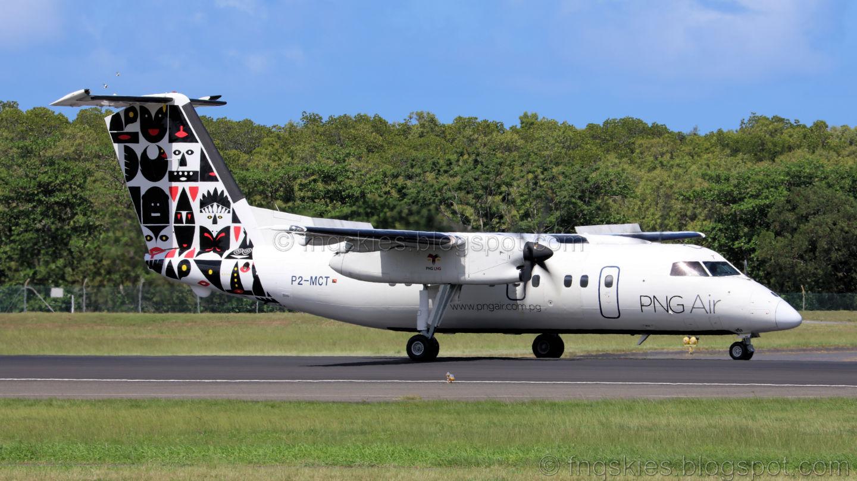 Far North Queensland Skies: PNG Air Dash 8 /100 P2.