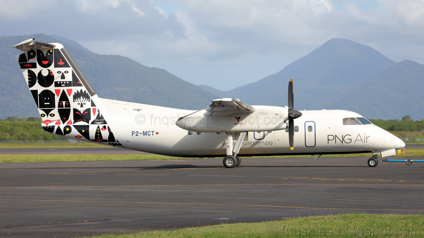 Far North Queensland Skies: PNG Air Dash 8 /100 P2.