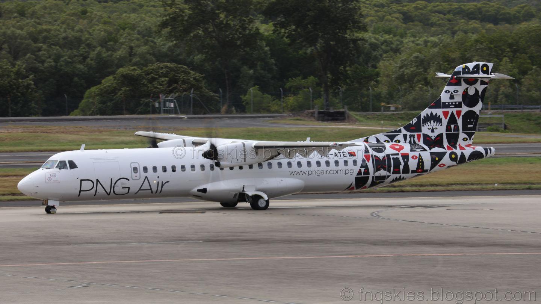 Far North Queensland Skies: PNG Air ATR72.