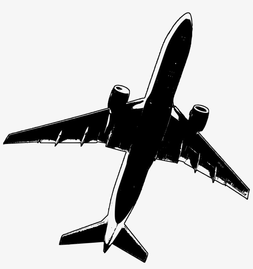 Clipart Malaysia Air Mh17 Flight Crash Airplane Outline.