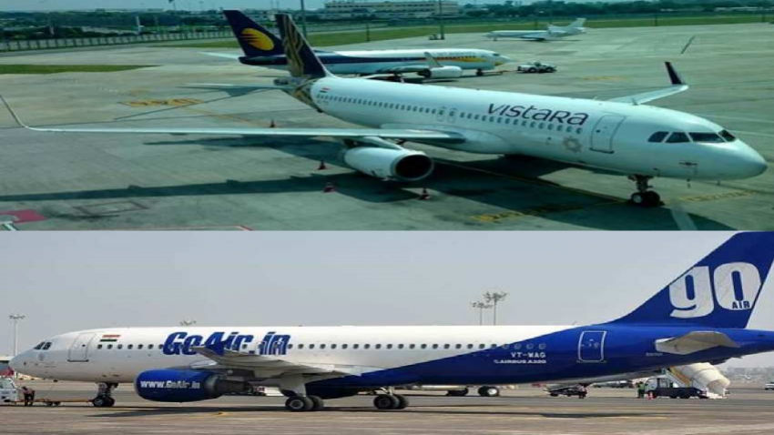 Vistara, GoAir, Air India new international flights.