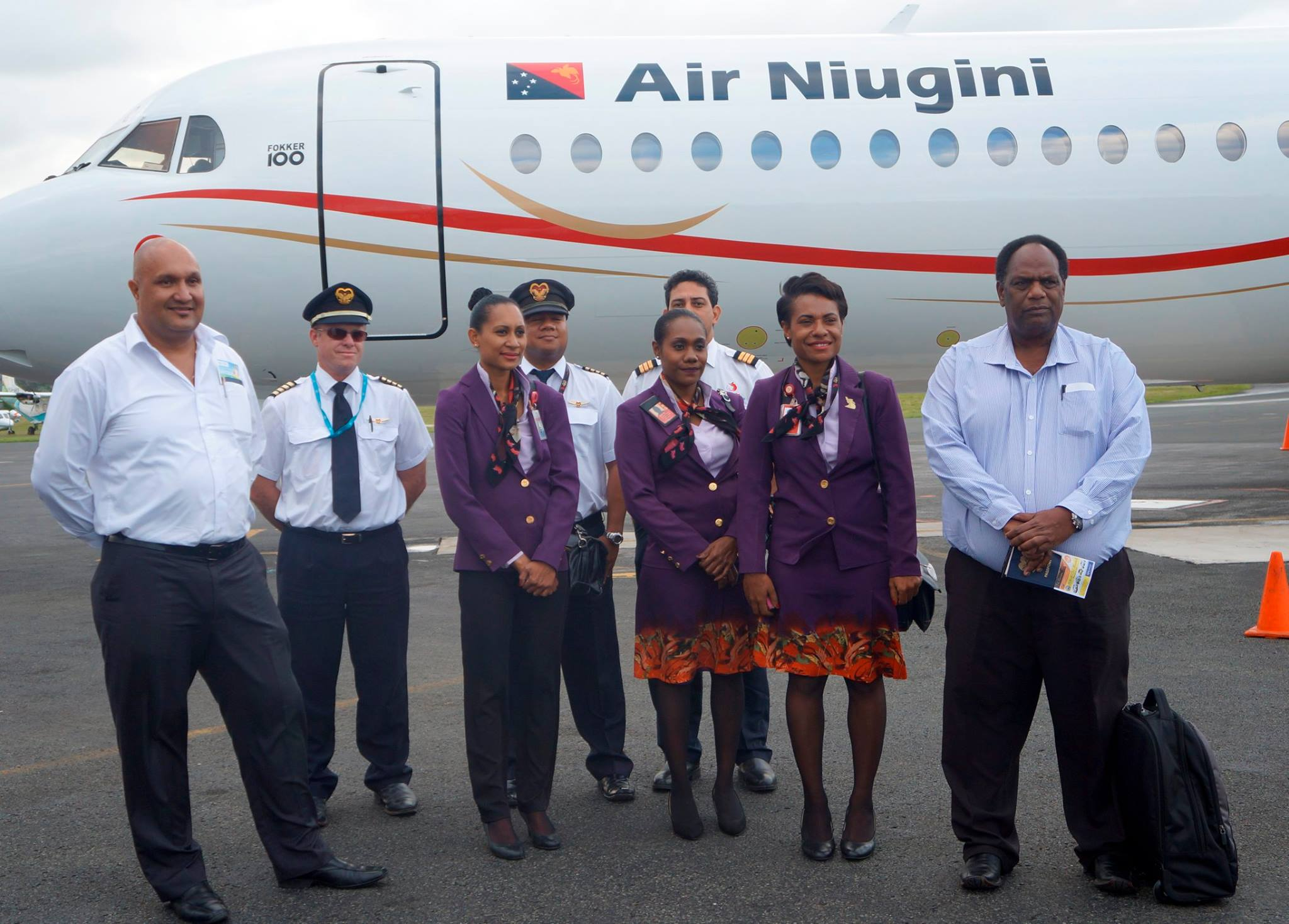 Air Niugini.