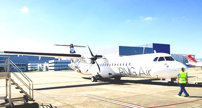 PNG Air welcomes third ATR 72.