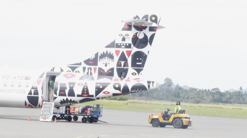 PNG Air, Virgin Australia code.