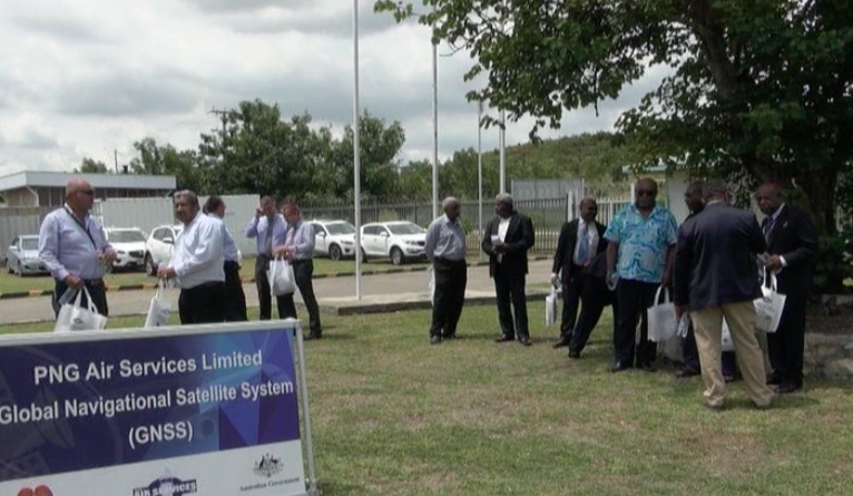 PNG Air Service Launches its New Global Navigation Satellite.