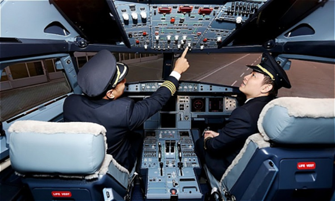 Vietjet air pilot salary.