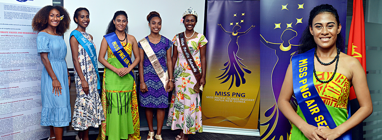 2019 Miss PNG Air Services launched.