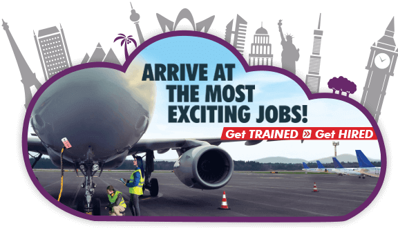 Ground staff training for airport & airline jobs.