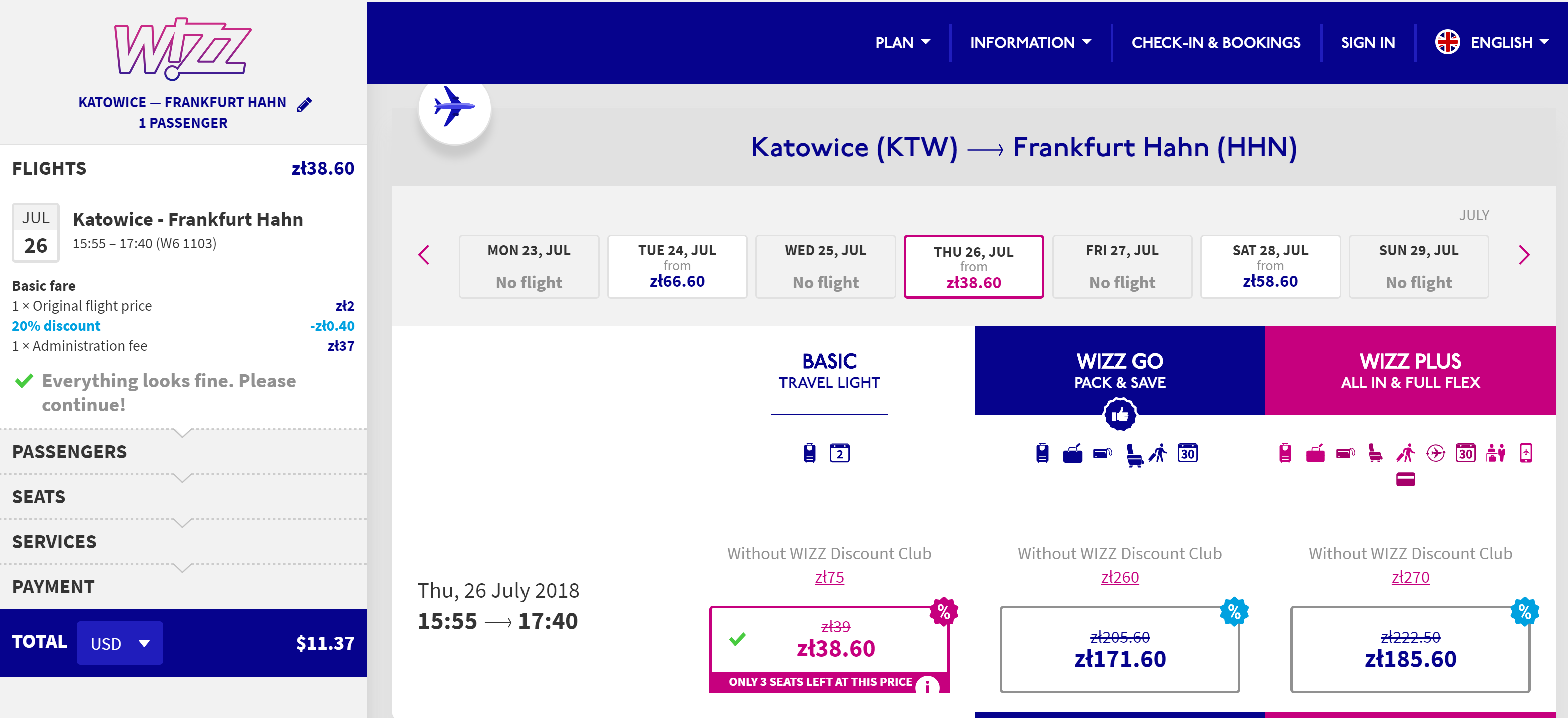 Wizz Air flash sale $11 summer flights and more.