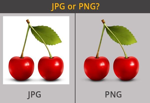 What is the difference between jpeg and png files?.