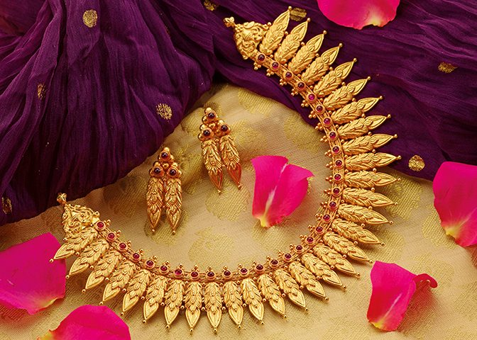 Bridal Jewellery Collection.