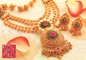 Online jewellery shopping.