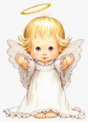 Angel, Angel Clipart, Hand Painted Cartoon, Mother PNG.