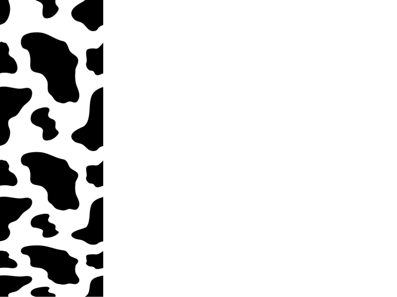 Print Paper With Zebra Print Boarder.
