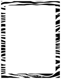 Cheetah print border. Free downloads at http://pageborders.org.