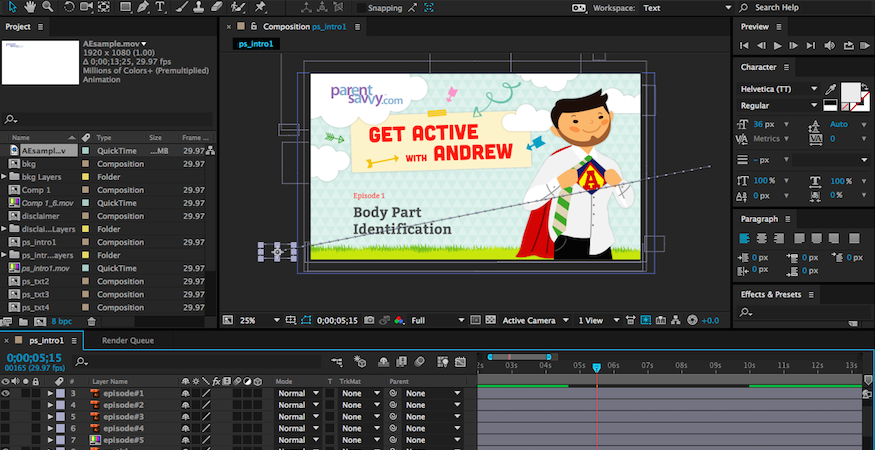 How To Animate Adobe Illustrator Files In After Effects.