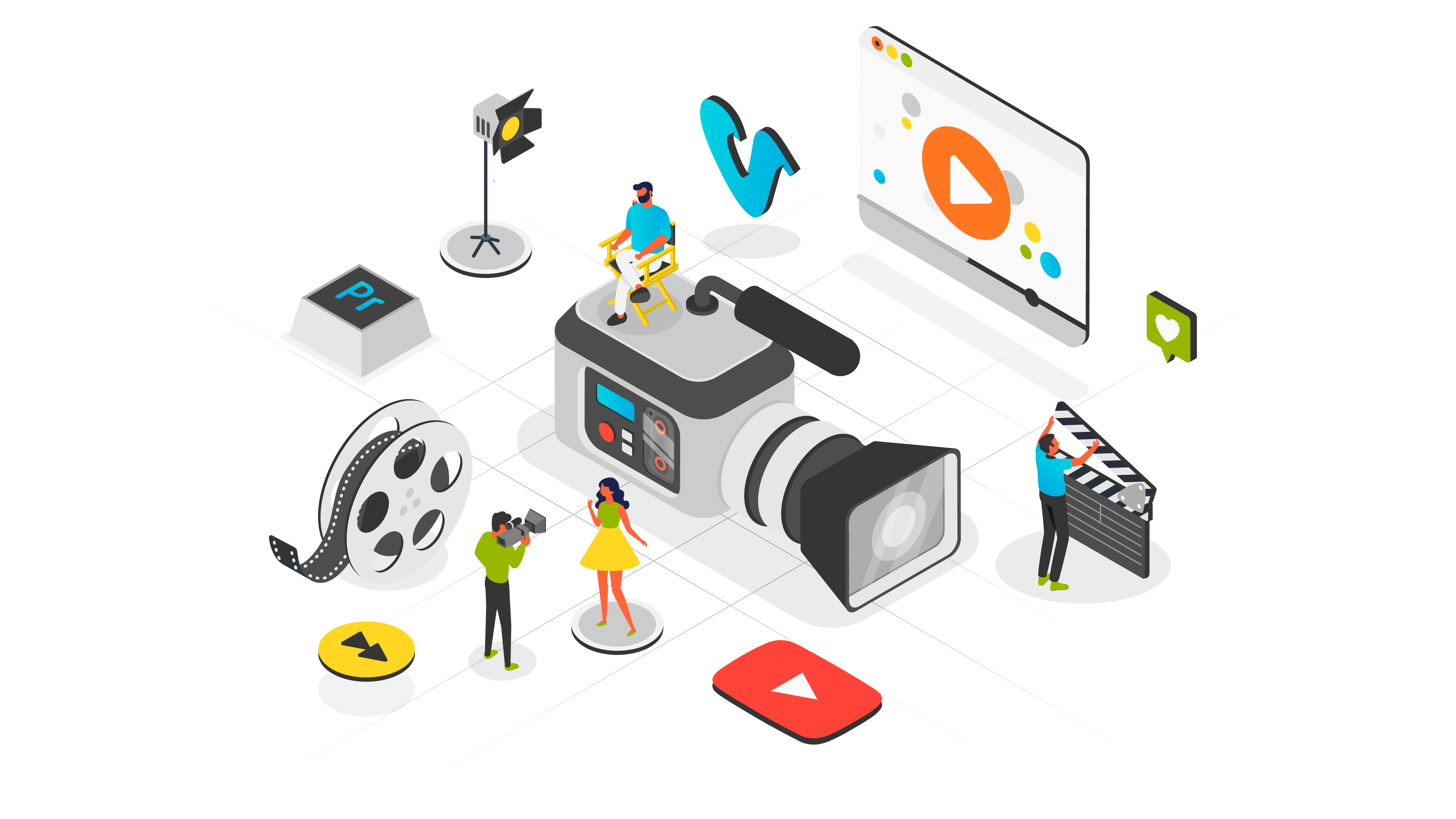 Animated Video and Explainer Video Production.