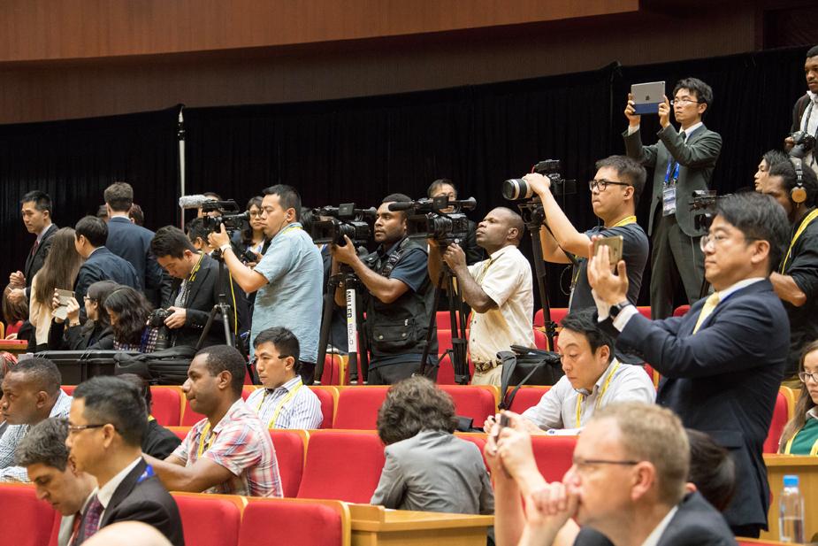 Media Facilities for APEC Economic Leaders\' Week.