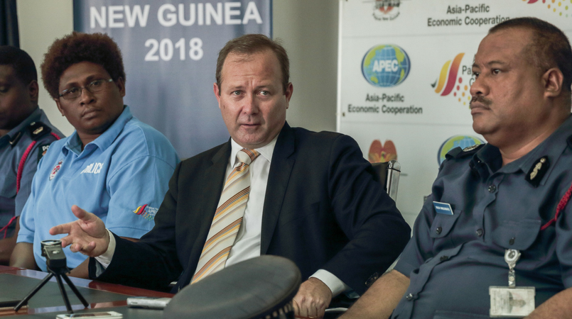 Govt change won\'t affect APEC preparations: Hawkins.