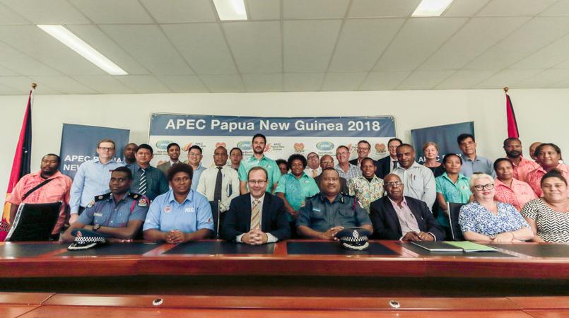 Hotel operators meet APEC authority on accommodation.