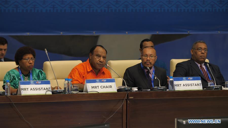 APEC trade officials meet in Port Moresby to discuss trade.