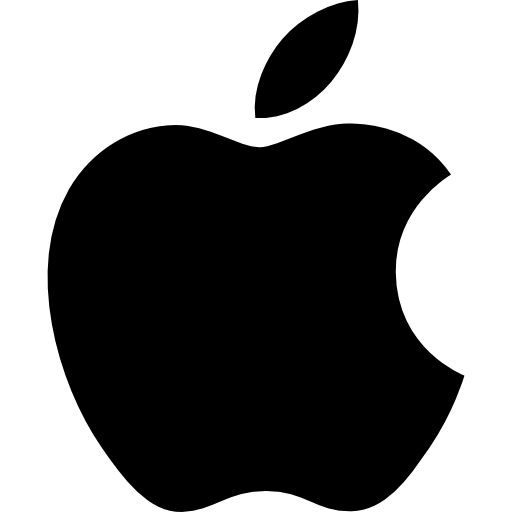 Apple logo Icons.