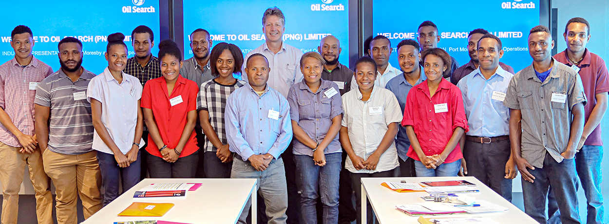 Oil Search welcomes 2019 apprentices.