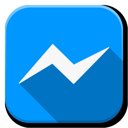 Apps Facebook Messenger Icon.