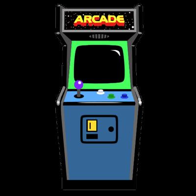 Retro Arcade transparent PNG.