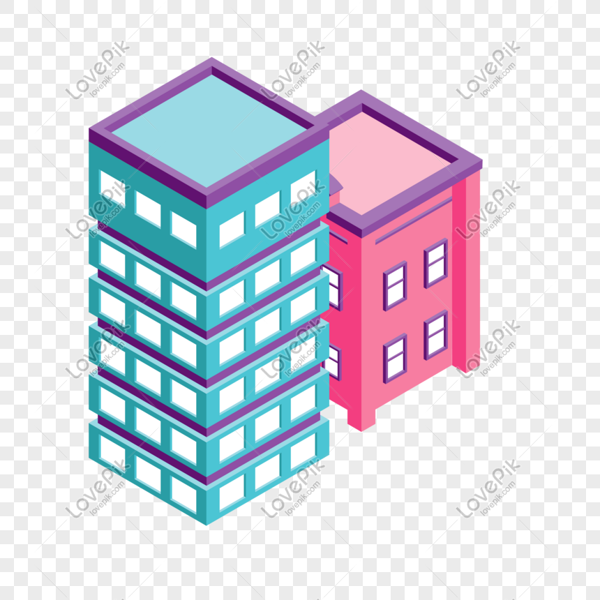 exquisita arquitectura tridimensional png Imagen.
