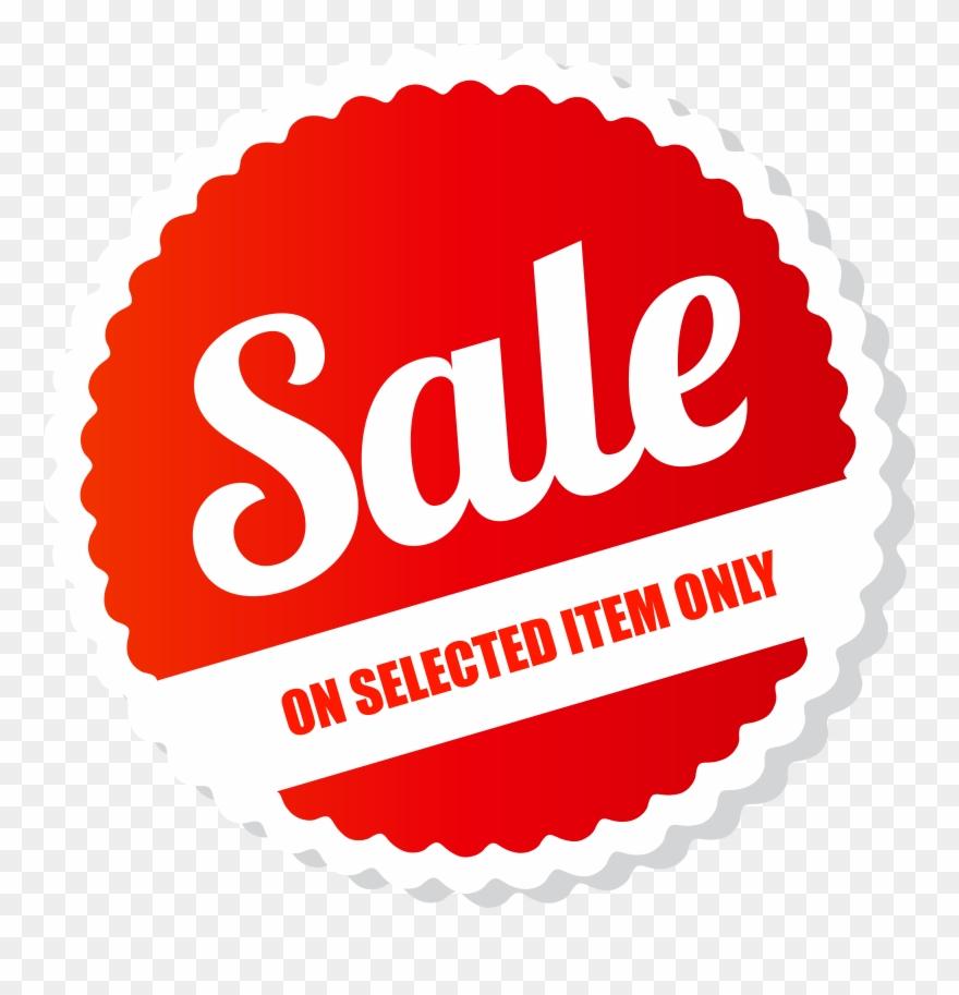 Sale Tag Png Clip Art Image.
