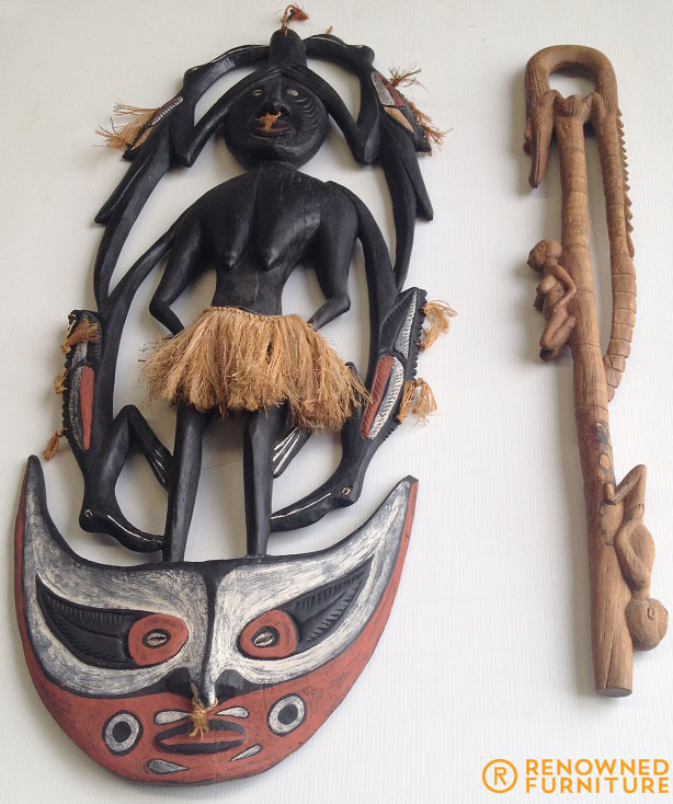 Papua New Guinea Artifacts.