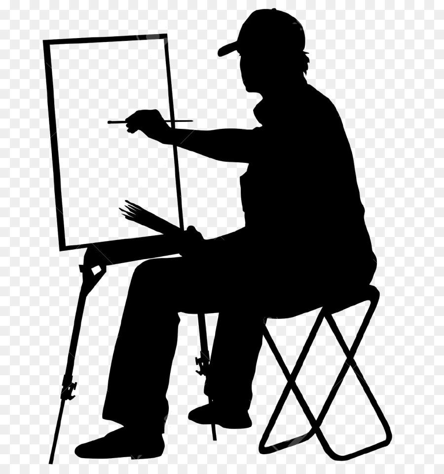 Vector Graphics Silhouette Artist Illust #241395.